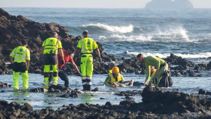 Ισπανία: 9 μετανάστες έχασαν τη ζωή τους σε ναυάγιο πλοιαρίου