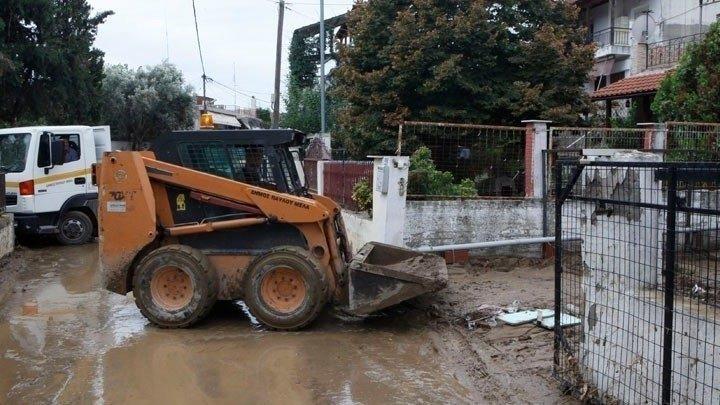 Κοζάνη: Εργασίες για την αποκατάσταση των ζημιών σε περιοχές που επλήγησαν από πλημμύρες