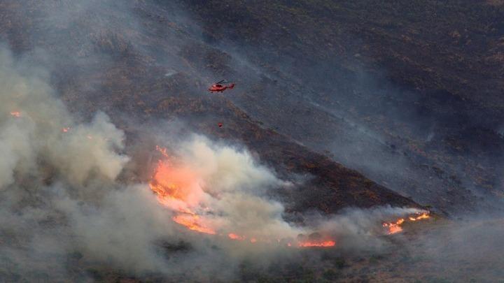 Πολύ υψηλός σήμερα και τη Δευτέρα ο κίνδυνος δασικών πυρκαγιών